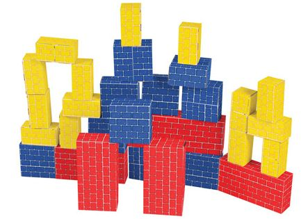 Melissa & Doug Cardboard Blocks at BabyEarth