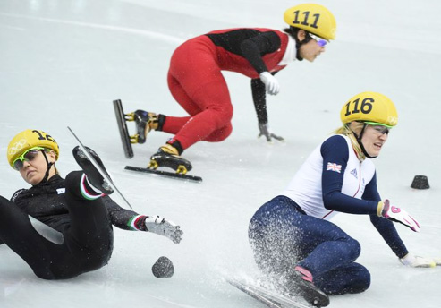 Agony of Defeat in Sochi