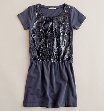 girl's shimmer dress 