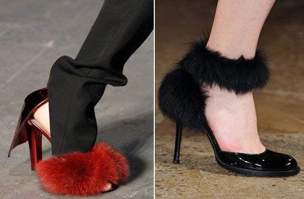 Fuzzy Shoes