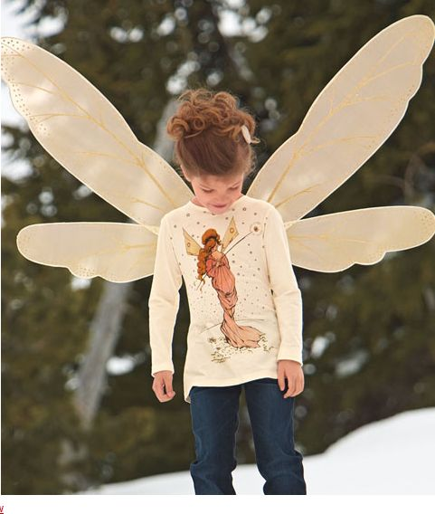 Girls' fairy tee shirt