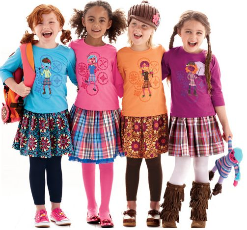 Little Girl First Day Of School Outfit