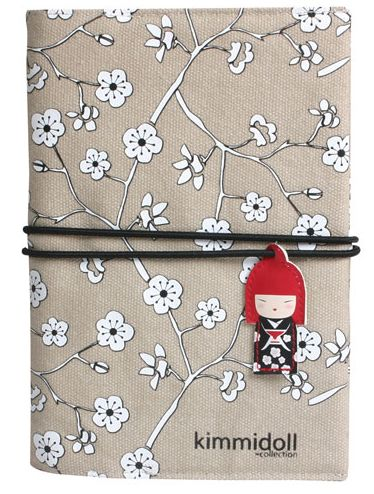 Kimmidoll Fabric Covered Notebook