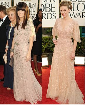 Sandra Bullock Golden Globes Bangs