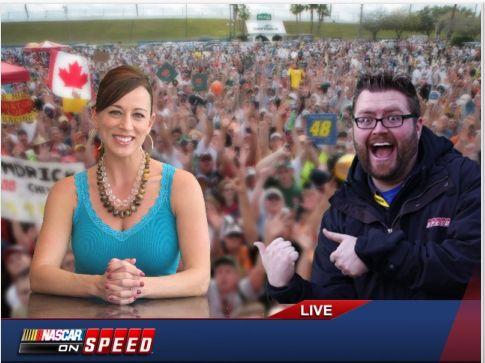 MommyQ SpeedTV Nascar