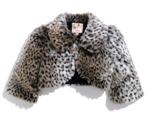 Faux Fur Jacket for Little Girls