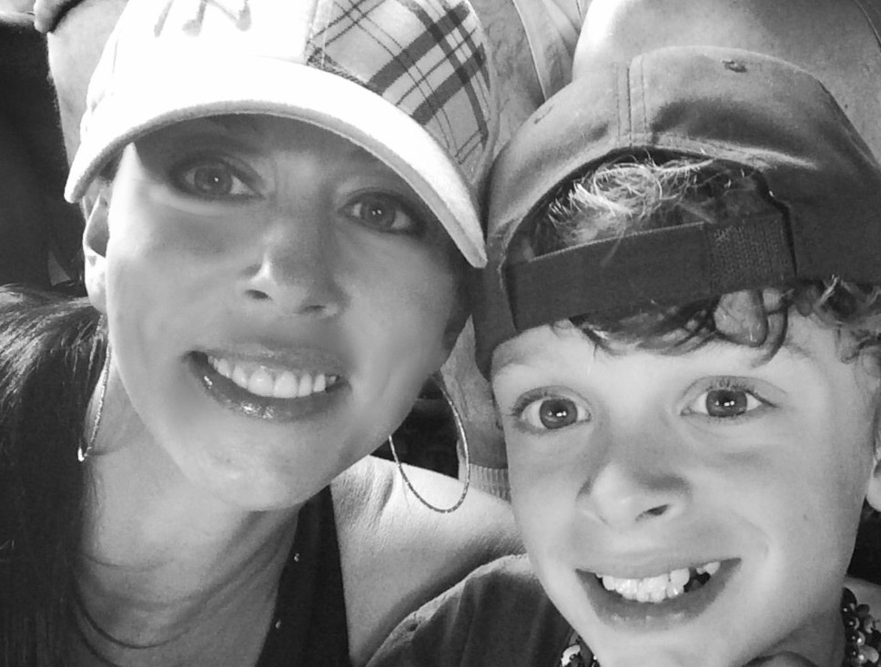 Cathy Hale, baseball selfie